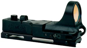 TRW - Tactical Railway Red Dot Sight, Polymer Body, Standard Switch