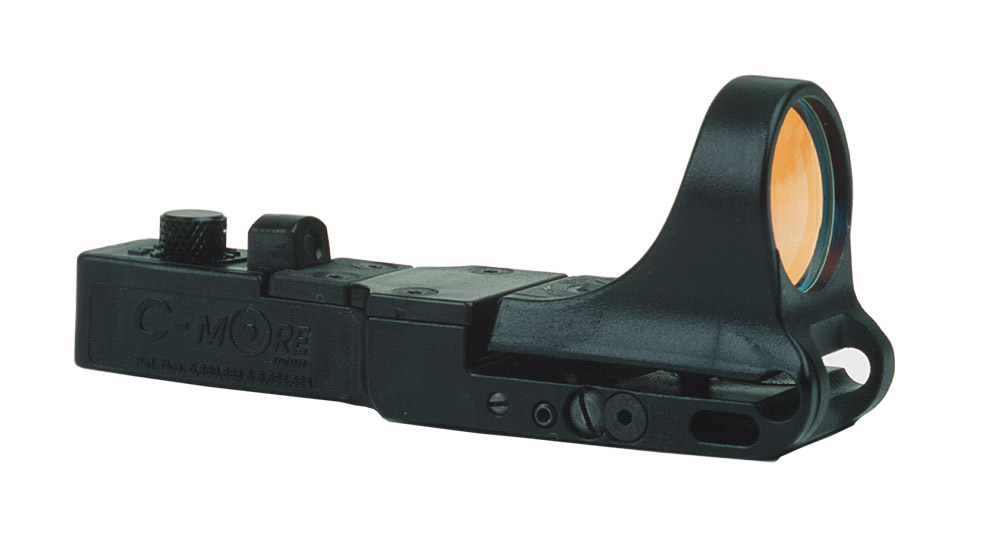 CSR - SlideRide Red Dot Sight, Polymer Body, Click Switch