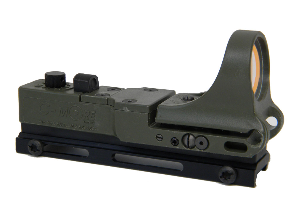 CTRW - Tactical Railway Red Dot Sight, Polymer Body, Click Switch