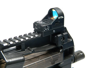 RTS2R - Mini Red Dot Sight w/Rail Mount